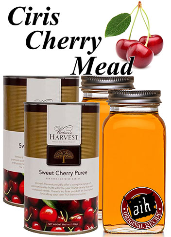 Sweet Cherry Mead Recipe Kit